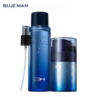BLUEMAN Men s Hydrating Skin Care Gentle Oil Control Gel Moisturizing Set thumbnail