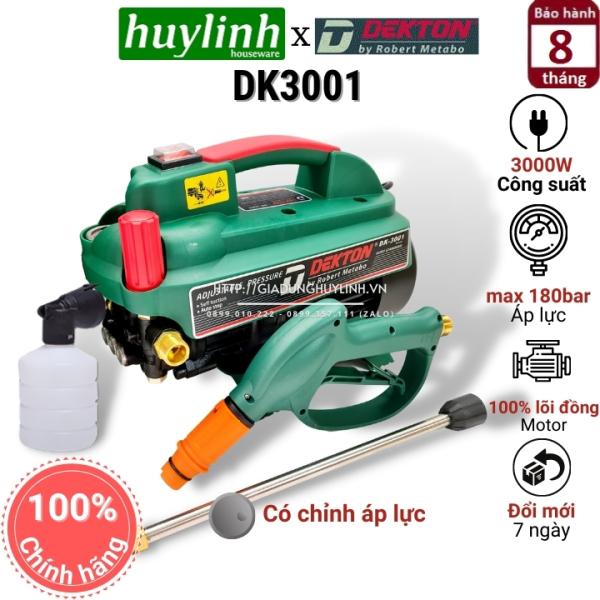 Máy xịt rửa xe chỉnh áp Dekton DK3001 - 3000W