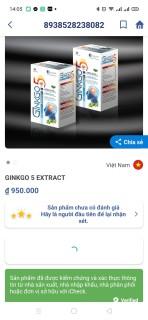 Hoạt huyết dưỡng não Ginko Nato 1200 Q10 France gruop với thành phần Ginkgo Biloba 360mg giúp giảm đau đầu, hoa mắt, chóng mặt, rối loạn tiền đình - Hộp 100 viên Ginkgo Biloba, cao đinh lăng, cao lạc tiên 4