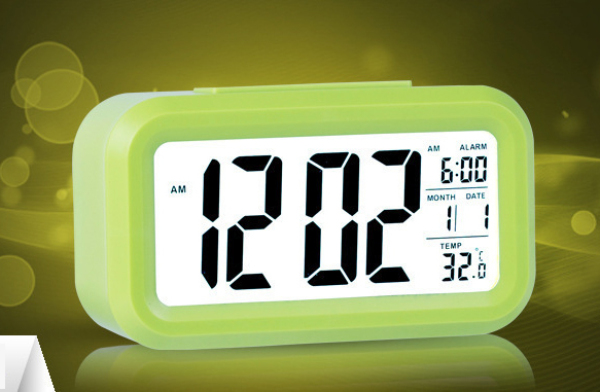 Nơi bán Đồng hồ để bàn led thông minh có báo thức, nhiệt độ, ngày tháng mẫu trang trí đẹp mắt - DH011