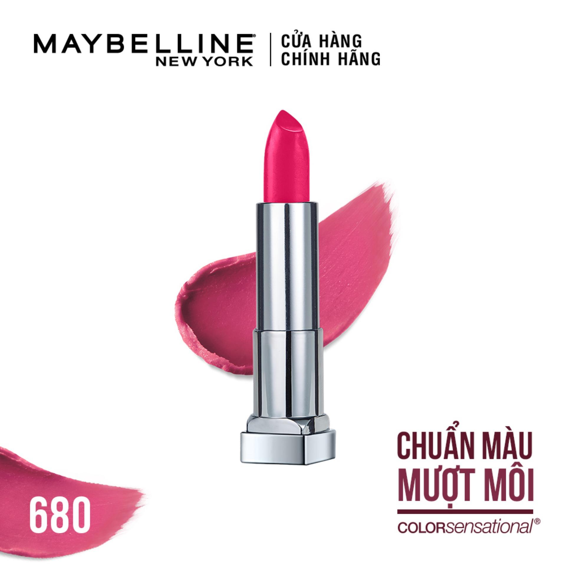 Son lì mịn môi Maybelline New York Color Sensational The Creamy Mattes 3.9g