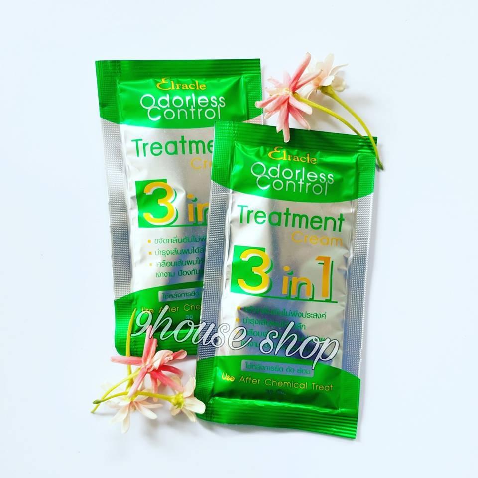 01 Gói Ủ Tóc Bio Treatment Thái Lan (XANH LÁ) phục hồi & kích thích mọc tóc