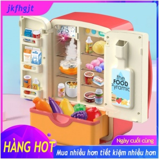COD Ready Stock 30 Món Đồ Chơi Trẻ Em Giả Vờ, Tủ Lạnh Mô Phỏng Đôi Đồ Chơi Nhà Bếp Mini Giáo Dục, Vai Trò Chơi Đồ Chơi thumbnail