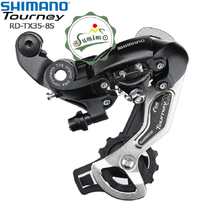 Phân phối Cùi đề xe đạp - Gạt líp Shimano Tourney RD-TX35-8 Speed - Chính hãng