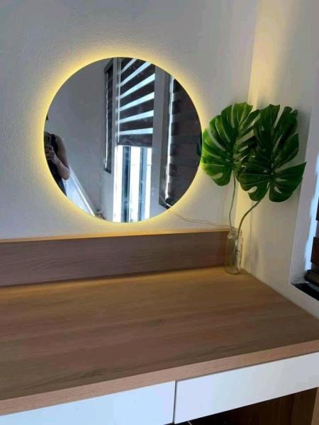 Gương Tròn Hậu LED D50