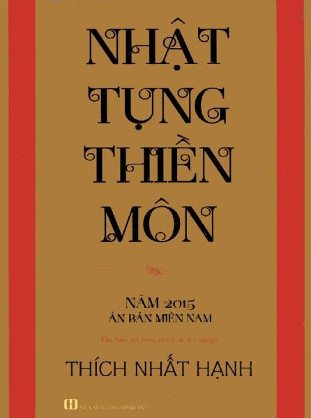 Sachnguyetlinh - Nhật Tụng Thiền Môn - Tác giả: Thích Nhất Hạnh