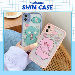 Ốp lưng iphone Xsmax - ốp lưng iphone Cute Dino dành cho iphone 6 6S 6Plus 6SPLus 7 7PLus 8 8Plus X Xs XR Xsmax 11 11Pro 11Promax - v05 Shin Case thumbnail