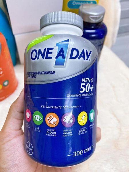 Viên uống bổ sung vitamin và khoáng chất cho đàn ông trên 50 tuổi One A Day Men