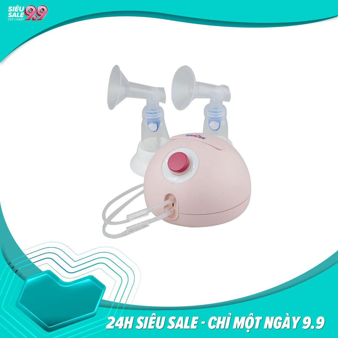Máy hút sữa điện đôi Spectra Dew 350 Made in Korea