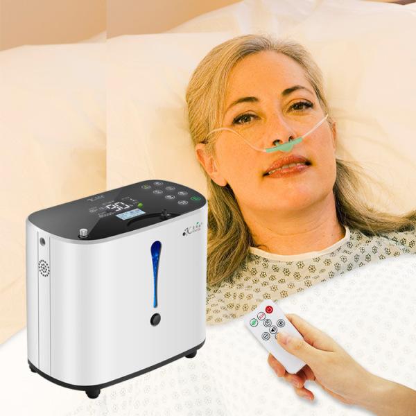 Máy tạo oxy nhà máy Máy tạo oxy hộ gia đình Máy tạo oxy di động cho phụ nữ mang thai với máy oxy điều khiển từ xa bằng giọng nói nhập khẩu