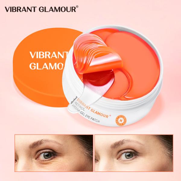 VIBRANT GLAMOUR  Retinol Eye Patch 60pcs Eye mask serum dưỡng da Remove Firming Dark Circles Anti-Puffiness Eye Bag Wrinkle Skin Care