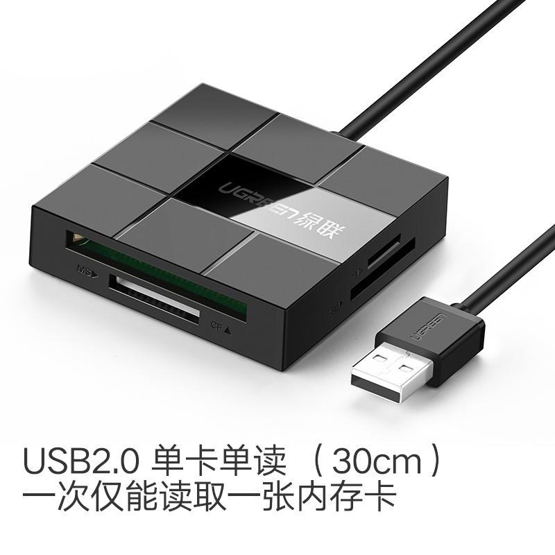 UGREEN Đầu Đọc Thẻ Đa Hợp Nhất TF/SD/CF/MS Thẻ Nhớ Trong USB Cao Tốc Máy Tính, Điện Thoại Máy Ảnh Đa Chức Năng
