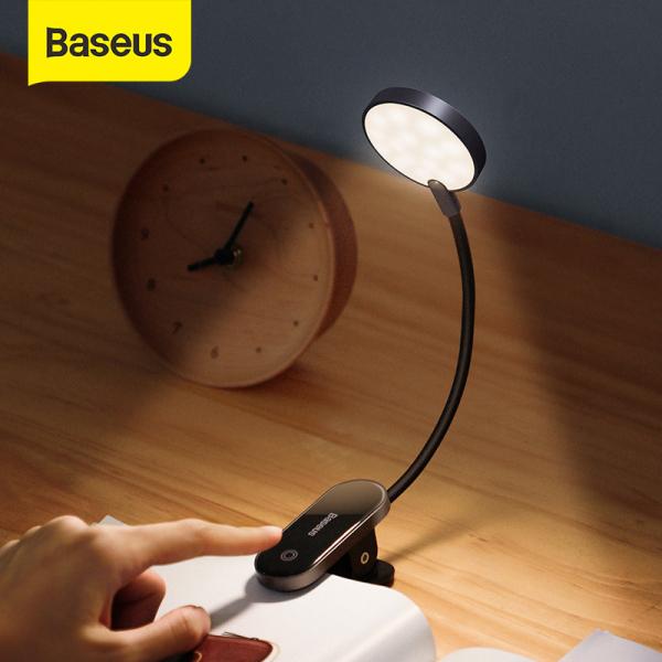 Bảng giá Đèn Led mini không dây Baseus đèn đọc sách sạc USB có kẹp tiện lợi dành cho gia đình văn phòng Phong Vũ