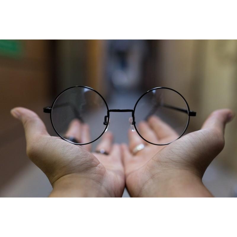 Giá bán (ML) Gọng kính kim loại không gỉ mắt tròn