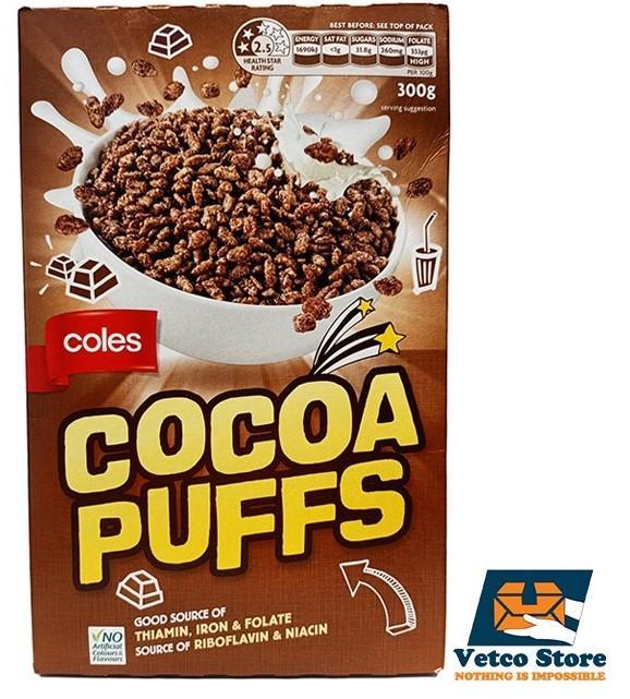 Ngũ Cốc Cocoa Puffs 300g Của Úc Giá Tốt Không Thể Bỏ Qua