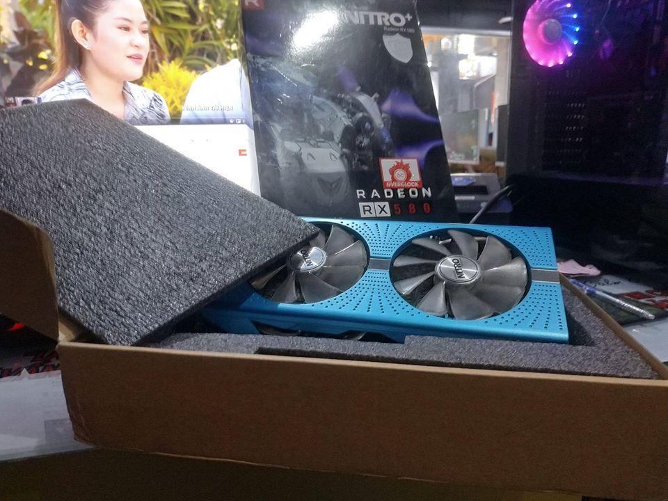 Giá Card màn hình Sapphire rx 580 8g xanh fullbox