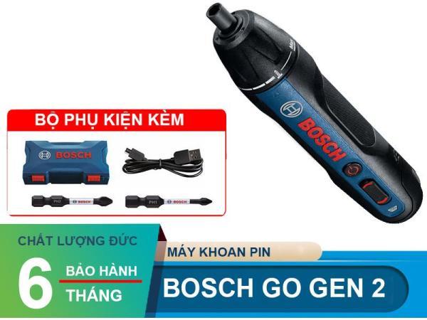 Máy vặn vít Bosch Go Gen 2