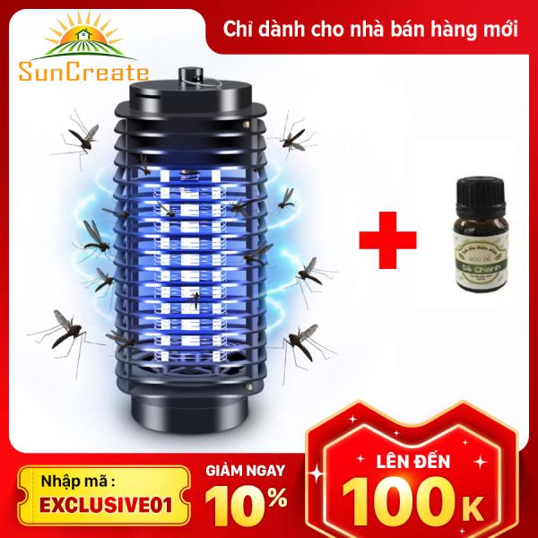 (Tặng tinh dầu thơm đuổi muỗi)Đèn Bắt Muỗi Côn Trùng hình tháp LM 3B Dạng Lưới Điện