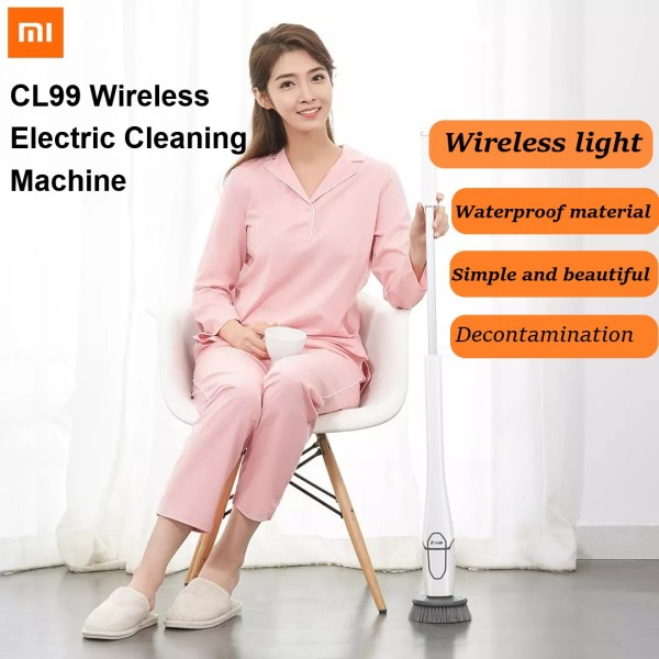 Xiaomi Original 01 CL99 Home Multi-Function Electric Cleaning Machine Vacuum Cleaners USB Rechargeable Wireless 3 Brush Head