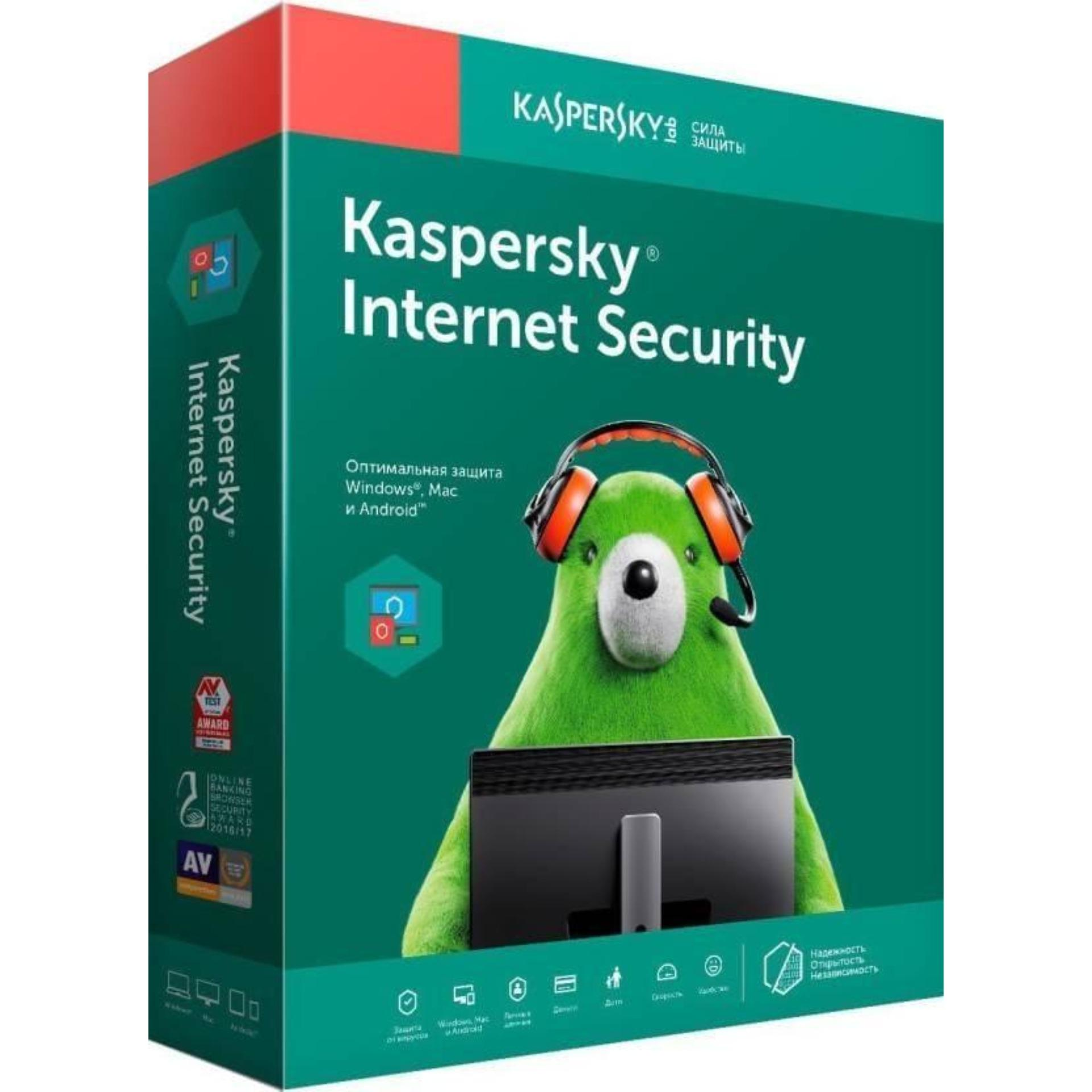 Phần mềm diệt virus Kaspersky Internet Security 1PC