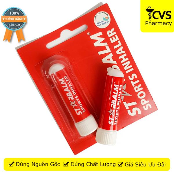 Chai Hít STARBALM Sports Inhaler - Giúp Lưu Thông Đường Hô Hấp, Hít Thở Sâu  - Cvspharmacy