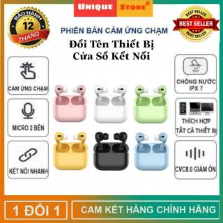 [ Được Chọn Màu ] Tai Nghe Bluetooth InPods Airs Phiên Bản Pro Quốc Tế Hỗ Trợ Mọi Dòng Máy, Chống Ồn Hiệu Quả - Tai nghe bluetooth không dây hay hơn i11, i12 - Tai nghe bluetooth nhét tai thumbnail