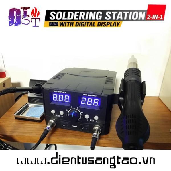 Máy hàn và khò nhiệt YCD-8582D