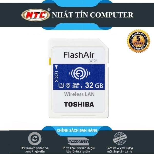 ❤️ Thẻ nhớ ❤️ TOSHIBA 32gb Wifi SDHC FlashAir W-04 90mb/s (Bảo hành chính hãng 24 tháng)