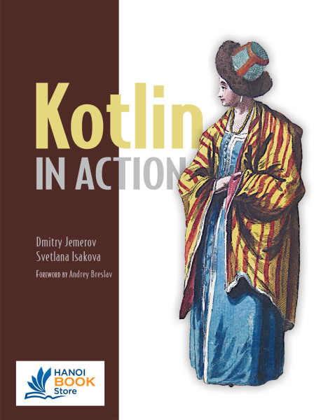 Kotlin in Action - Hanoi bookstore