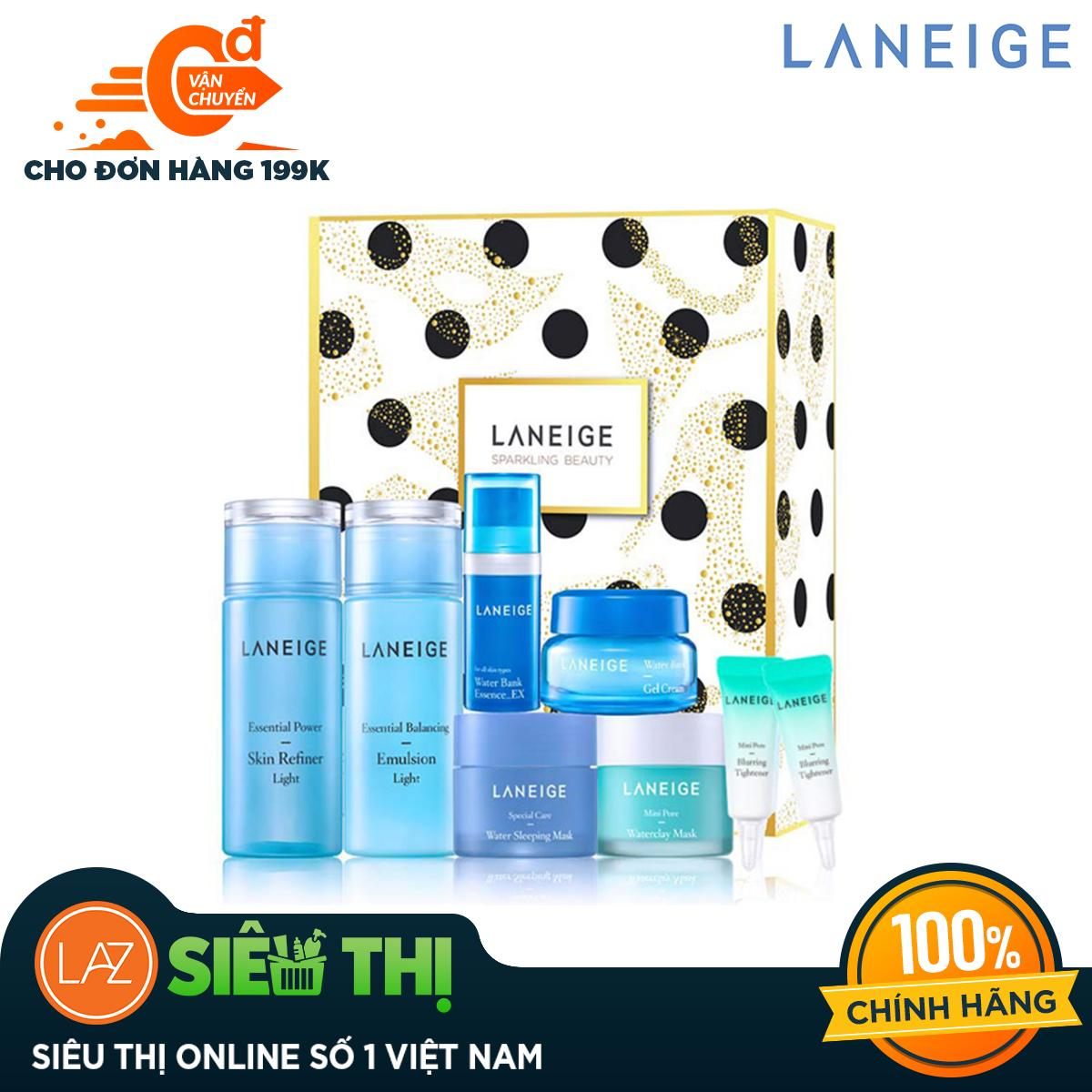 [Siêu thị Lazada] - Bộ dưỡng ẩm dành riêng cho da dầu và da hỗn hợp Laneige Light Moisture Set