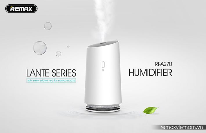 Bảng giá Máy phun sương tạo độ ẩm Remax RT-A270 - An toàn khi sử dụng