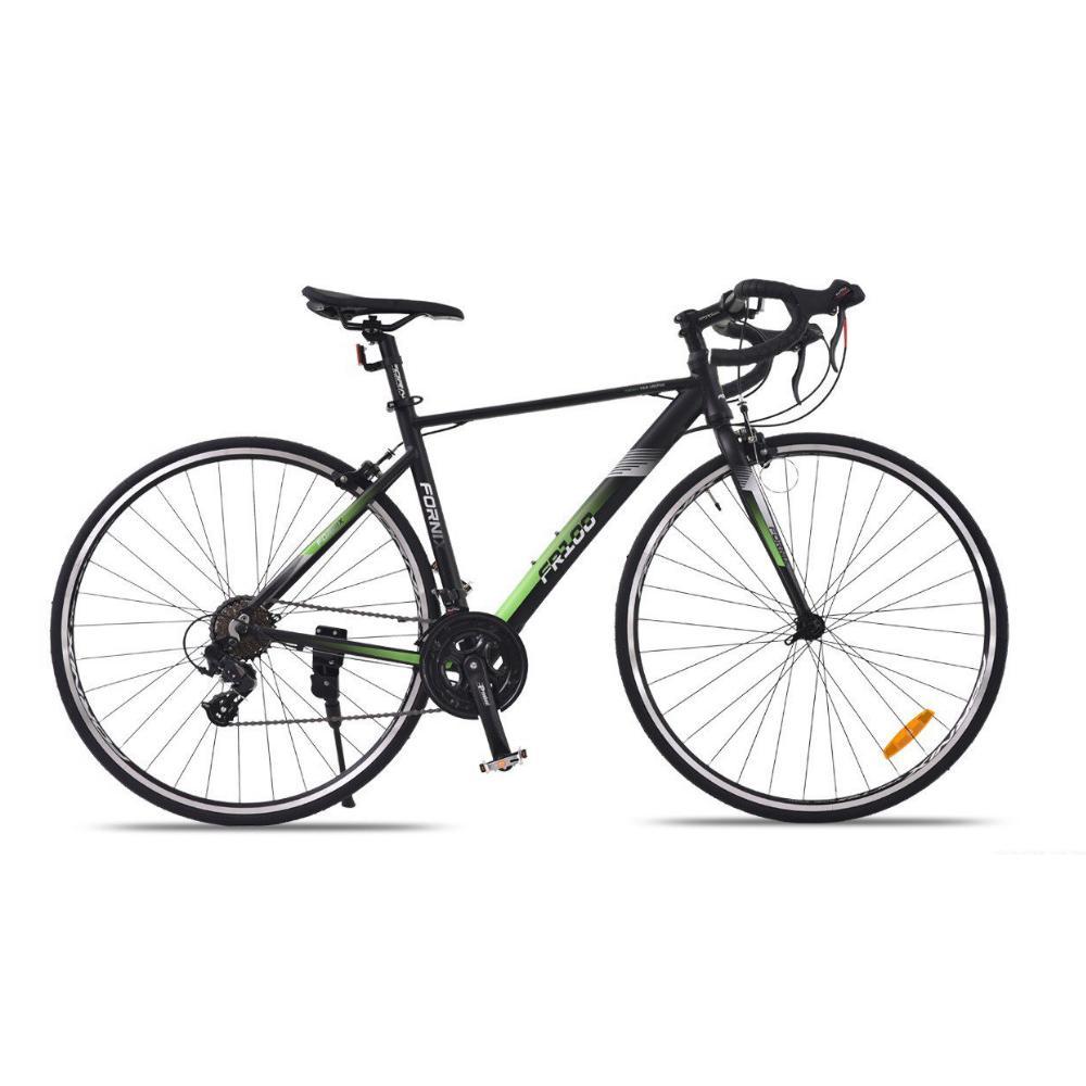 Mua Xe đạp đường trường đua FR100 màu xanh lá đen trẻ trung