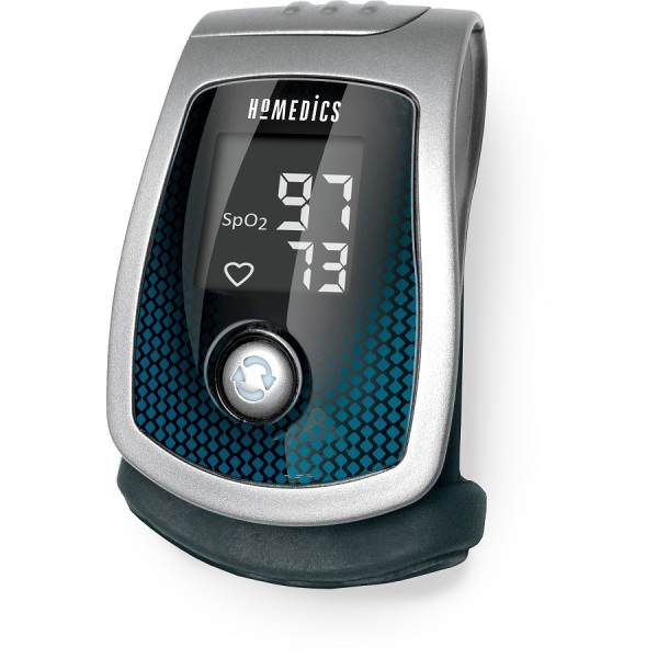 Nơi bán Máy Đo Nồng Độ Oxy Máu Và Nhịp Tim USA HoMedics PX-130 Công Nghệ Optimetrix ( FDA Hoa Kỳ )