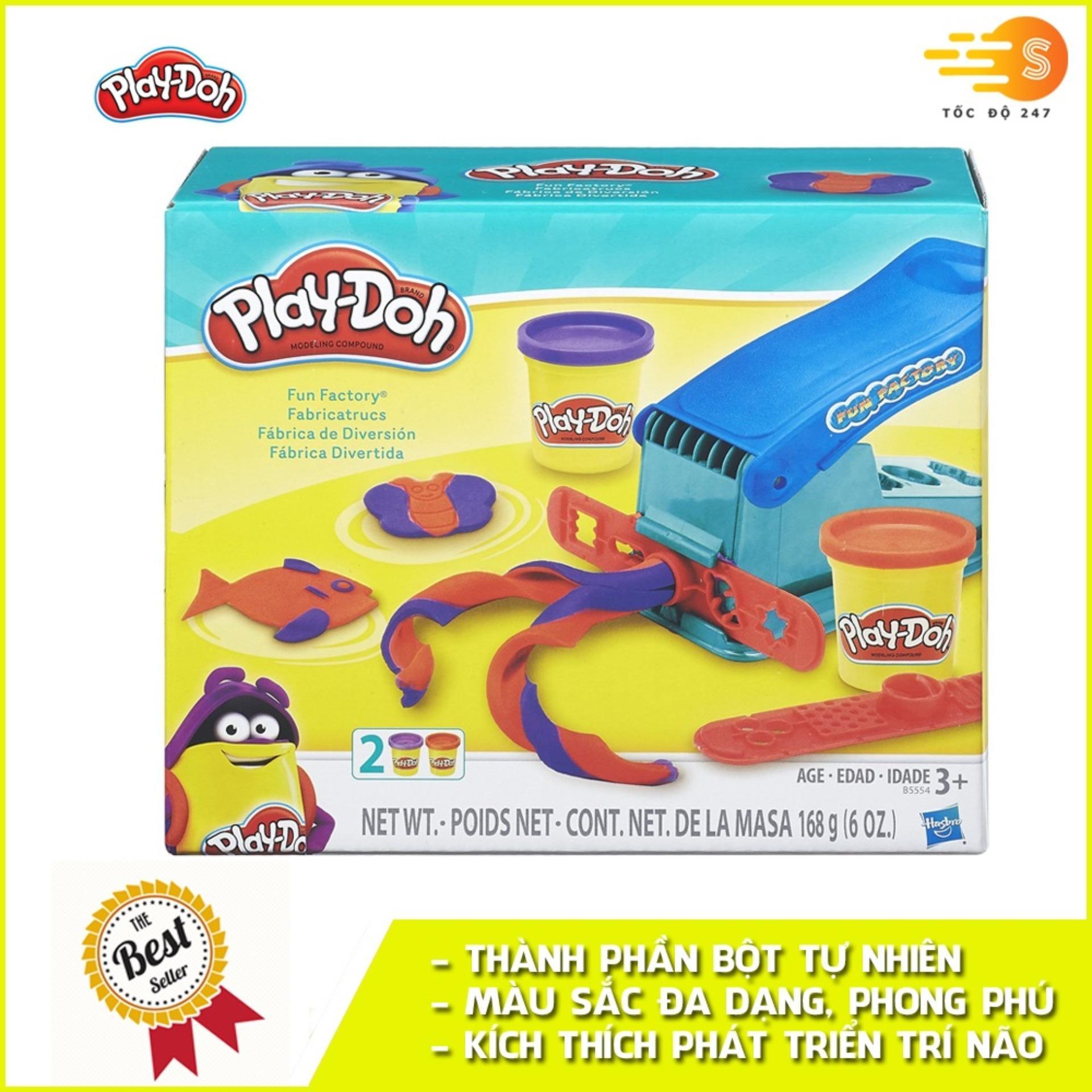 Coupon Khuyến Mại Bộ Bột Nặn Tạo Hình Nhà Máy Vui Vẻ Play-Doh B5554