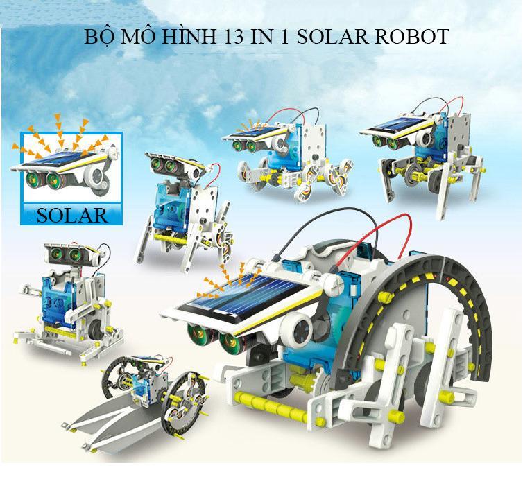 IT Smart - Bộ lắp ráp Robot Năng Lượng Mặt Trời EDUCATIONAL SOLAR ROBOT KIT