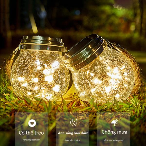 Bảng giá 01 Đèn led trang trí ngoài trời ngoài không thấm nước, sạc năng lượng mặt trời, sử dụng trang trí sân vườn, ban công, nhà hàng, khách sạn, khu nghỉ dưỡng, giáng sinh Decorative Solar Powered Bulbs Waterproof for Outdoor Decorations
