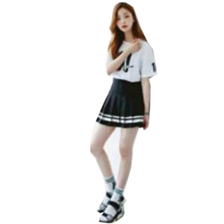 Chân Váy Xếp Ly Nữ Hàn Quốc Pk Cv02(thủy thủ) thumbnail