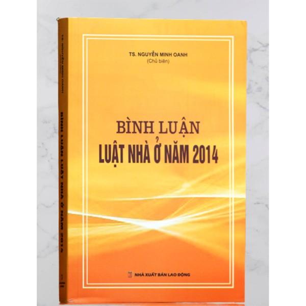 Sách - Bình luận Luật nhà ở năm 2014