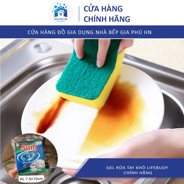 [Công Nghệ Thái Lan] 5 Miếng Bọt Biển Rửa Chén Sum, Miếng Rửa Bát Tiện Dụng Chất Lượng Cao, Miếng Rửa Bát Giá Rẻ