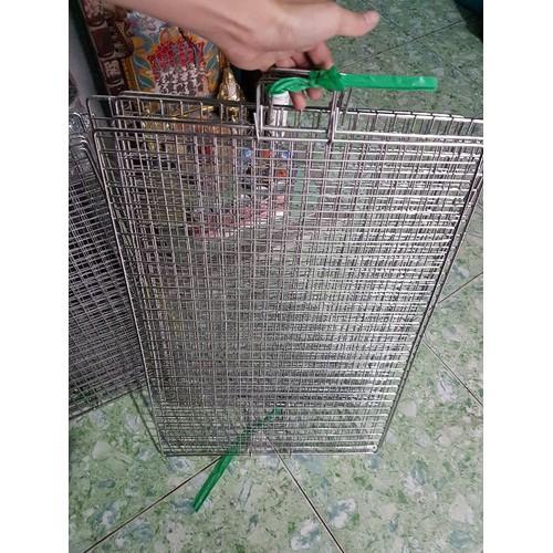 [Giá Sốc] Vĩ Nướng Inox Cao Cấp Chống Ghỉ 40x50cm