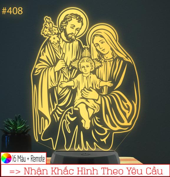 Bảng giá Đèn thờ led 16 màu Hình Chúa, Đèn thờ tôn giáo, Đèn Thờ Công Giáo, Đèn trang trí, quà tặng, khắc hình theo yêu cầu