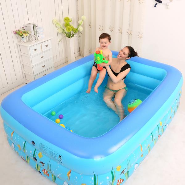 Bể bơi phao cho bé m2 - 2 tầng