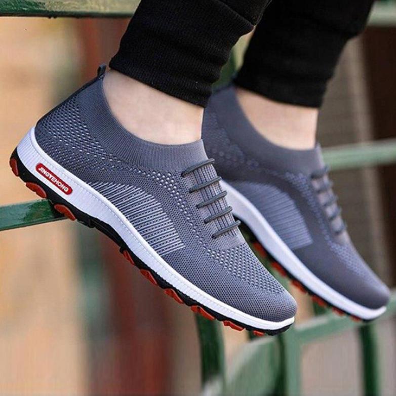 Giày thể thao nam sneaker Thoáng Khí Siêu Êm Chân LEMA Store - GN66 kiểu dáng giày cực ngầu, trẻ trung, mạnh mẽ, năng động, sang trọng và đẳng cấp giá rẻ