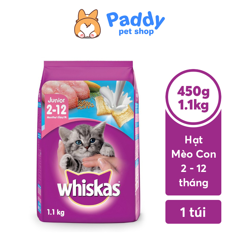 Hạt Whiskas Cho Mèo Con