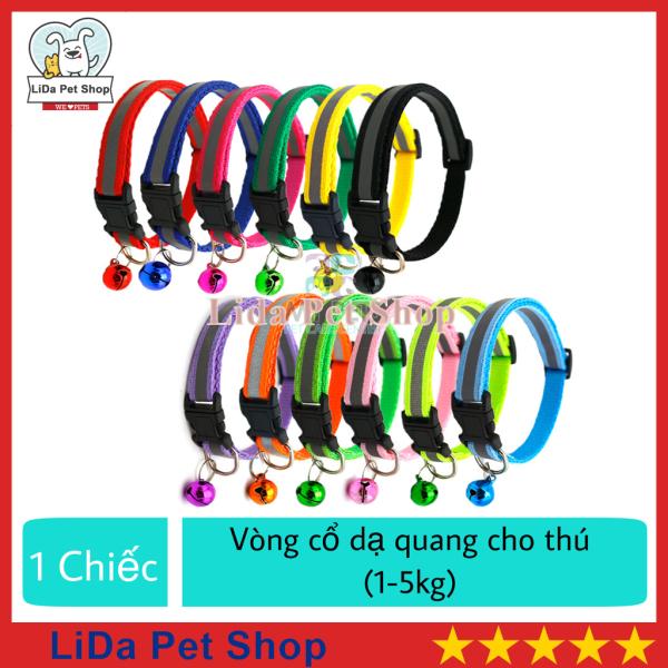 HN- Vòng cổ dạ quang dành cho chó mèo con (Dưới 5kg) - 1 chiếc - Lida Pet Shop