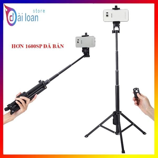 Gậy tự sướng kiêm chân đế Yunteng VCT 1688 có remote - Hỗ trợ chụp ảnh quay phim quay tiktok hiệu quả