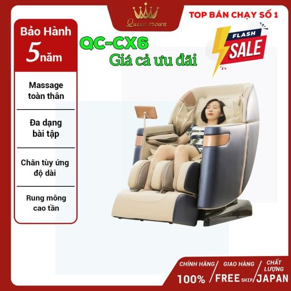 Ghế massage Queen Crown QC CX6 hàng cao cấp