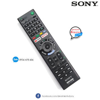 Remote TV Sony RMT-TX300P - Made in Malaysia