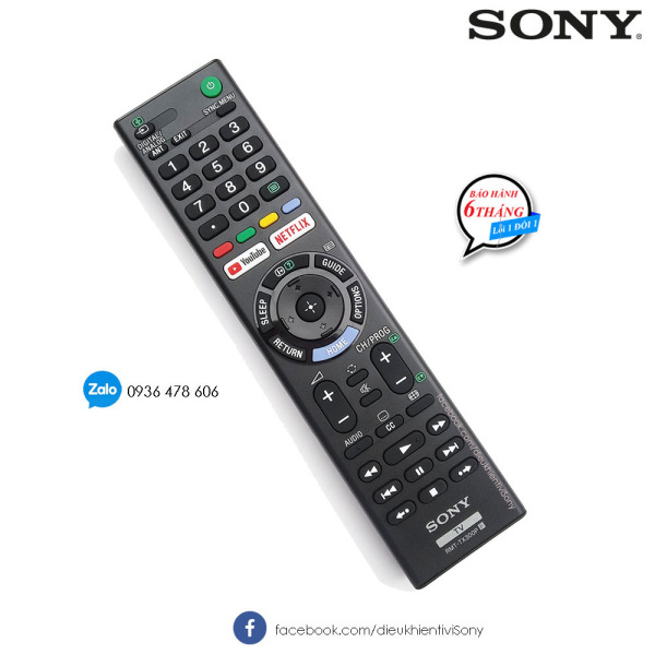 Bảng giá Remote TV Sony RMT-TX300P - Made in Malaysia