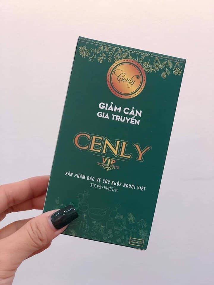 GIẢM CÂN GIA TRUYỀN CENLY VIP HỘP 15 VÊN ( giảm 4-6 kg sau 1 liệu trình) nhập khẩu